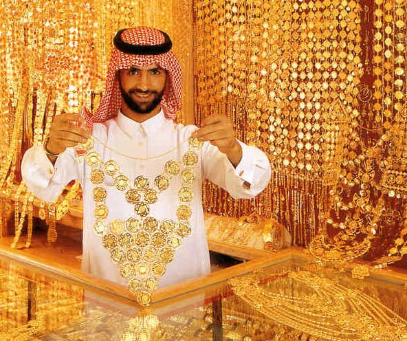 Gold Store in Dubai - Equedia Investment Research